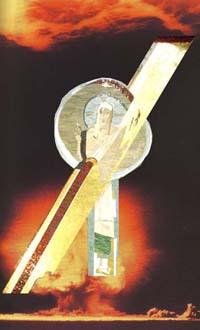 Altarbild der Weltfriedenskirche Hiroshima