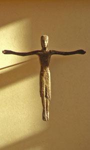 Kreuz im Enomiya-Lassalle-Raum
